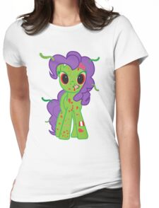 Zombie My Little Pony Womens Fitted T-Shirt