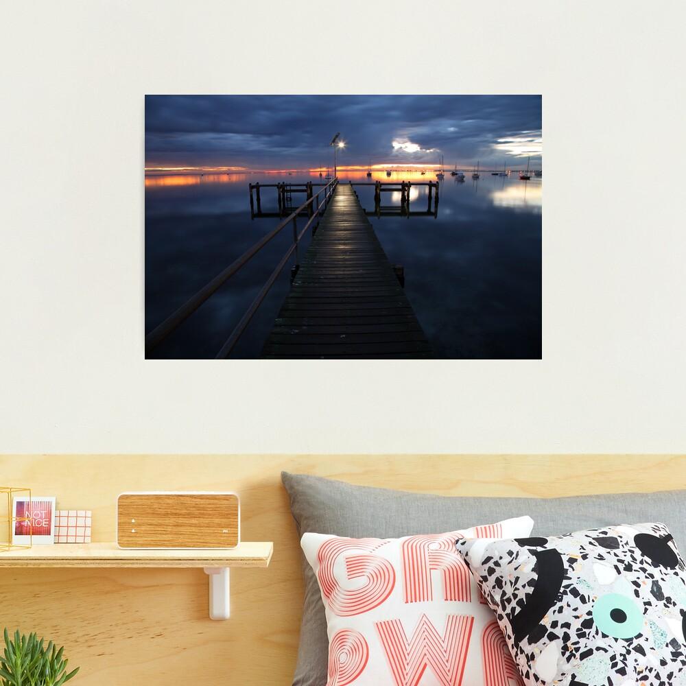 A Winter's Dawn on the Pier, Australia Photographic Print