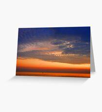 Glowing Sky Greeting Card