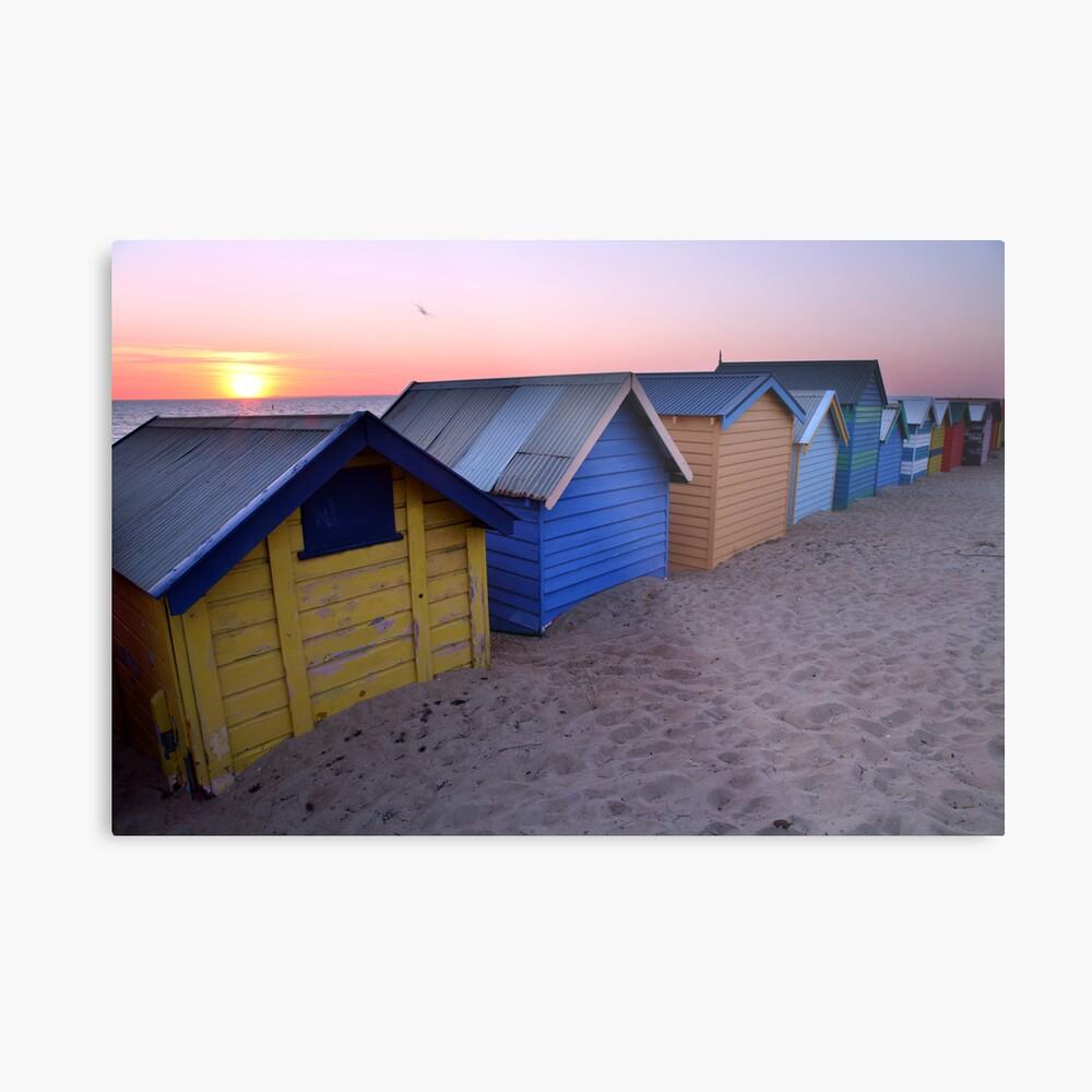 Brighton Beach Boxes, Australia Metal Print