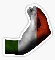 Italian Hand Gesture Sticker