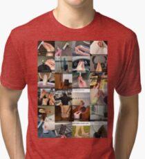 How Italians Do Things Meme Tri-blend T-Shirt