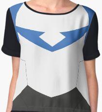 Blue Paladin Armor Women's Chiffon Top
