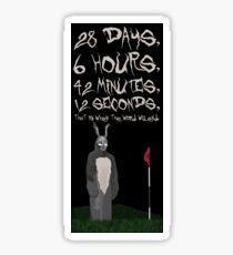 Frank - Donnie Darko Sticker