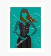 Feyre | A Court of Wings and Ruin Art Print