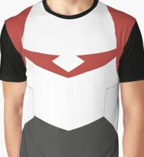 Red Paladin Armor Graphic T-Shirt