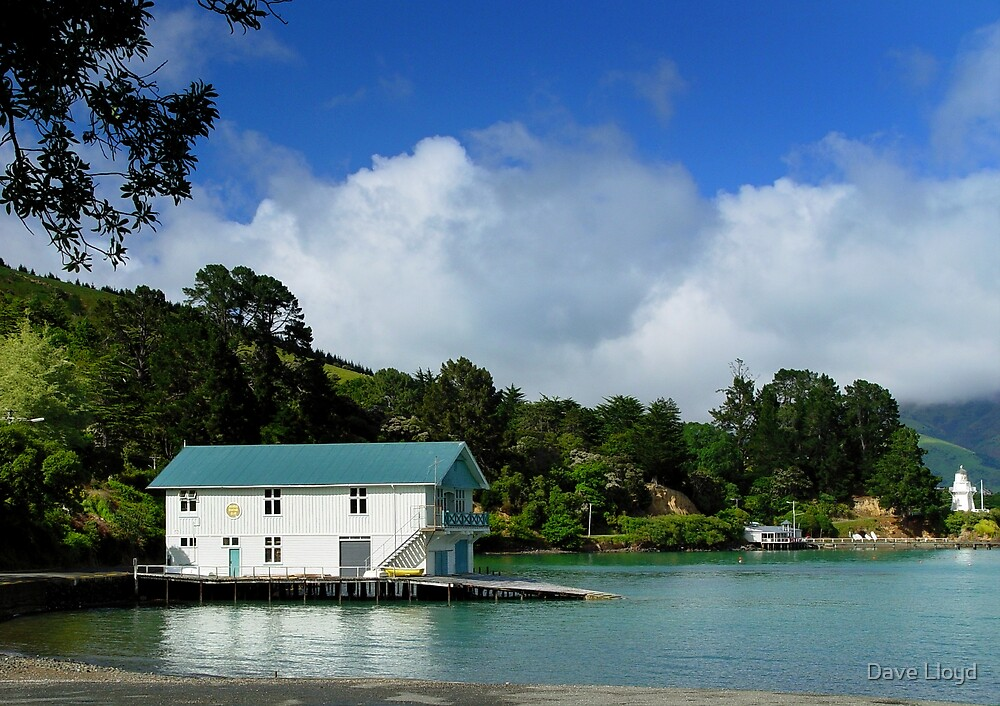 Boathouse by Dave Lloyd