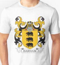 Barham Coat of Arms Unisex T-Shirt