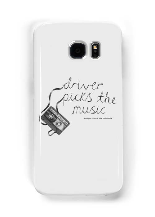 Driver Picks The Music Shotgun Shuts His Cakehole by Danielle White