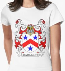 Barkeley Coat of Arms Women's Fitted T-Shirt