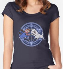 Fullmetal Fusion Ha! ver.original Women's Fitted Scoop T-Shirt