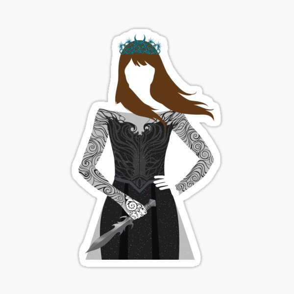 Feyre | A Court of Wings and Ruin Sticker