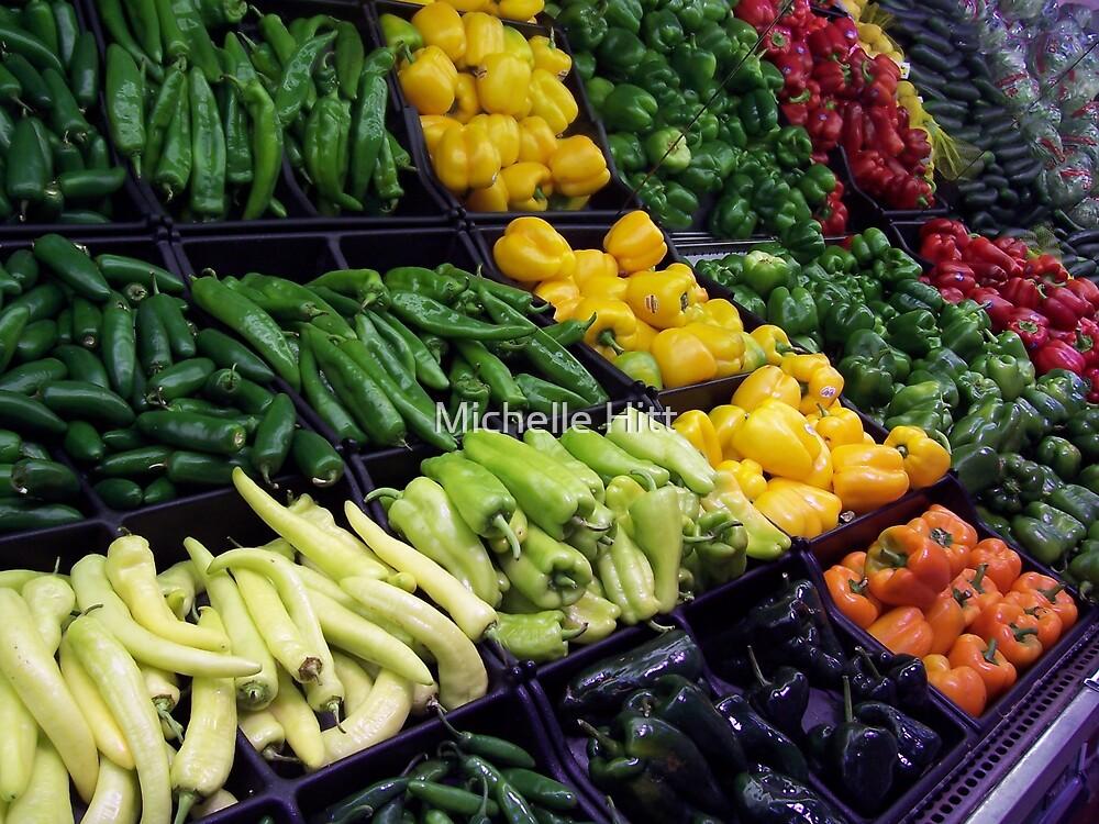 Peppers Aplenty by Michelle Hitt