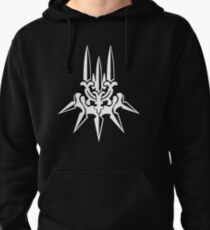 YoRHa - White Insignia Pullover Hoodie