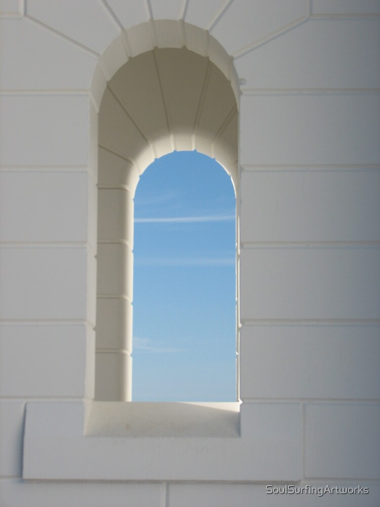 Lighthouse Window by SoulSurfingArtworks
