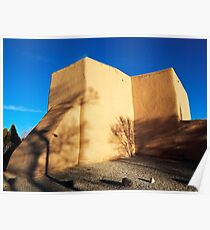 San Francisco de Asis Rear View Poster