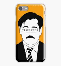 The Lobster Minimal Poster iPhone Case/Skin