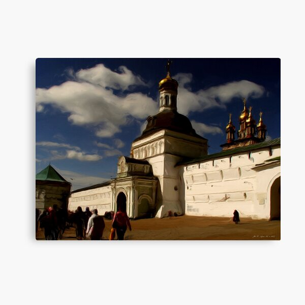 The Red Tower1 Canvas Print