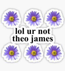 lol ur not Sticker