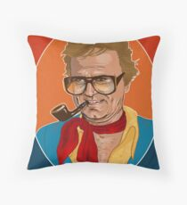 Charles Nelson Reilly  Throw Pillow
