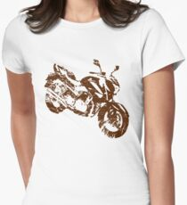 motorcycle Women's Fitted T-Shirt