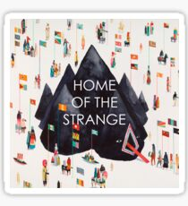 Young the Giant Home of the Strange with Text Sticker