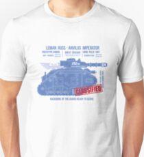 BLUEPRINT TEE - LEMAN RUSS 40K BONE Unisex T-Shirt