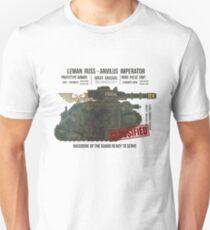 BLUEPRINT TEE - LEMAN RUSS 40K BONE GRUNGE Unisex T-Shirt