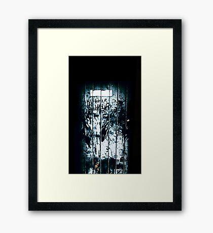 Help Framed Print