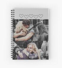 bellarke Spiral Notebook