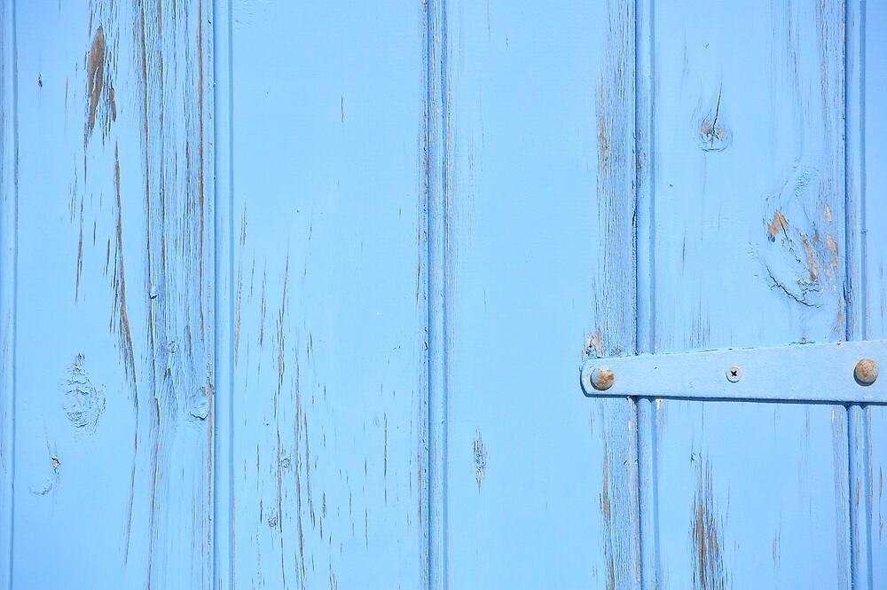 Blue Beach House 2 by Roslyn Slater
