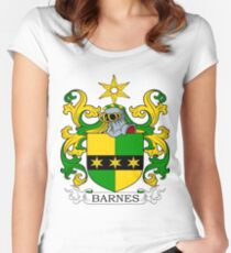 Barnes Coat of Arms Women's Fitted Scoop T-Shirt