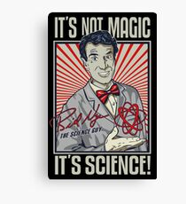 Science Guy Canvas Print