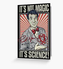 Science Guy Greeting Card