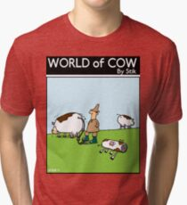 Inflatable Cows Tri-blend T-Shirt