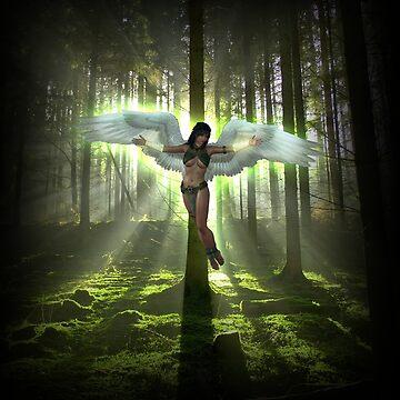 Forest Bird Fantasy von Reubsaet