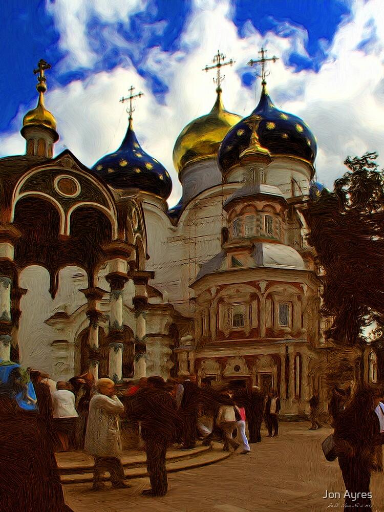 Inside View of Trinity Lavra of St. Sergius3 by Jon Ayres