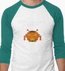 Halloween Invader Men's Baseball ¾ T-Shirt