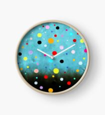 Dress - RUTH FITTA-SCHULZ - Polka Dots Abstract Vintage Art Clock