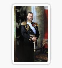 Tsar Nicholas II of Russia Sticker