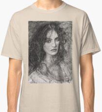 Smoky Noir Natalia Vodianova  Classic T-Shirt