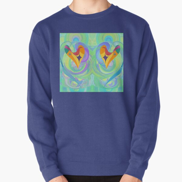 Hearts All At Sea Pullover Sweatshirt