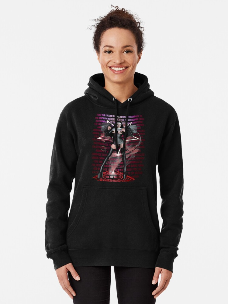 Alternate view of Free The Fallen Anima Pullover Hoodie