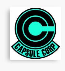 Capsule Corp  Canvas Print