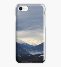 mountains in austria iPhone Case/Skin