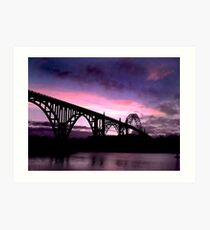 Newport Oregon Art Print