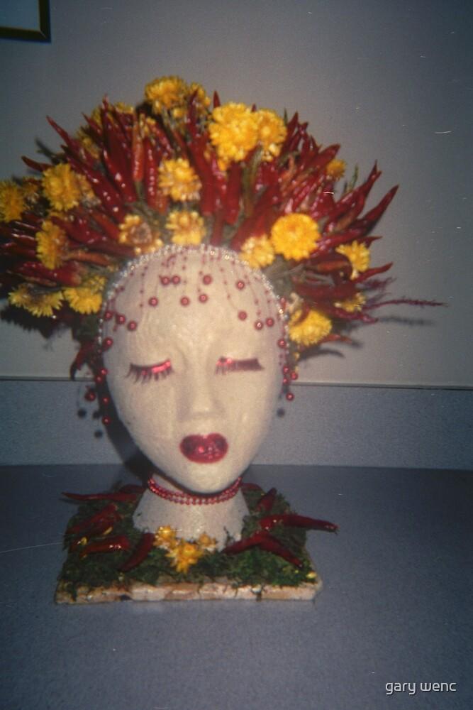 spicy female head by gary wenc
