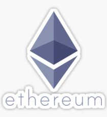 Ethereum Logo (with Text) Sticker