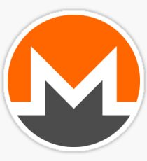 Monero Logo (XMR) Sticker