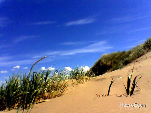 blue sky by HevroEgan